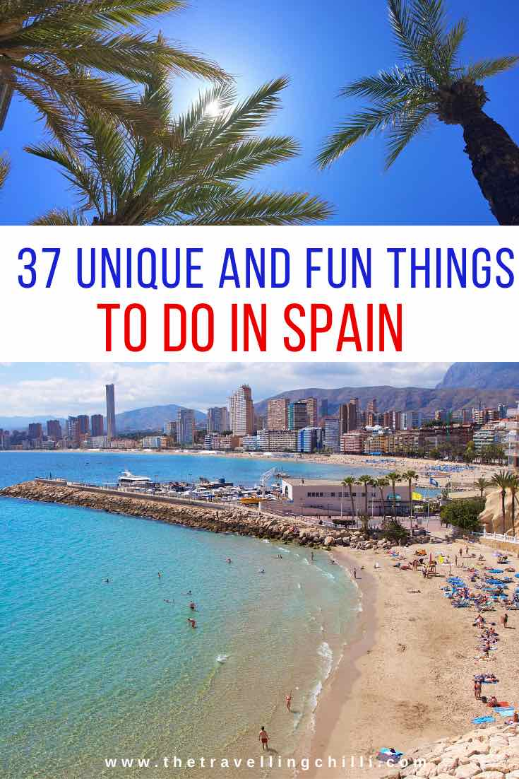 Fun things to do in Spain | Best things to do in Spain activities | Spain Tourist Attractions | What to do in Spain | Must do in Spain #spain #spainactivities #thingstodoinspain #spanje #spaintravel #visitspain