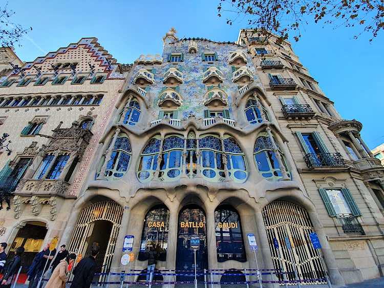 Casa Batllo Barcelona Antoni Gaudi