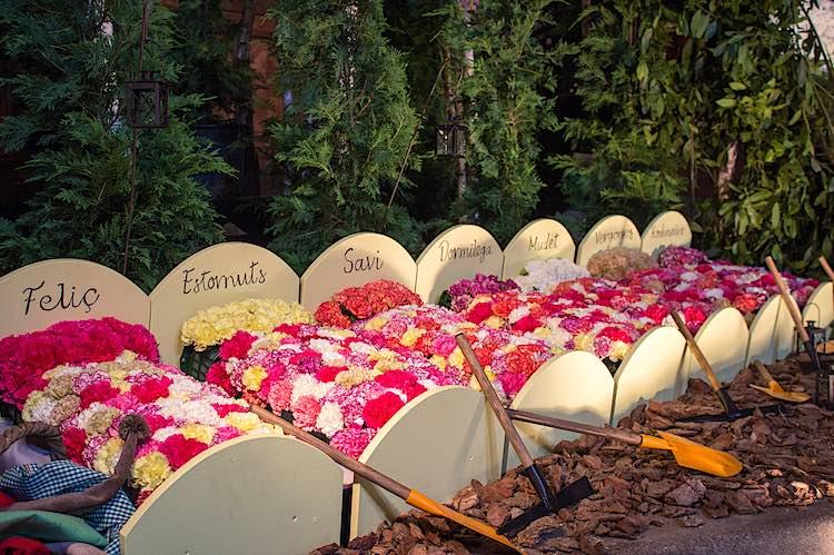 Girona Flower Festival Spain