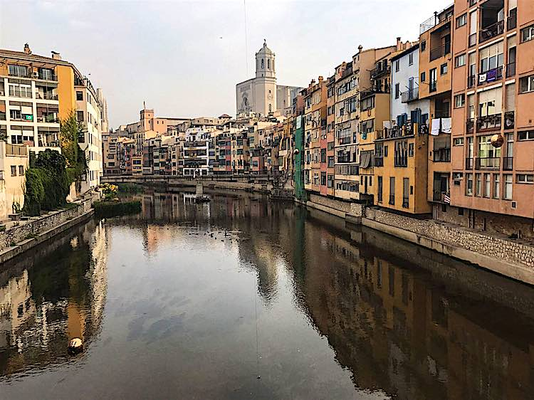 Cycling in Girona Spain