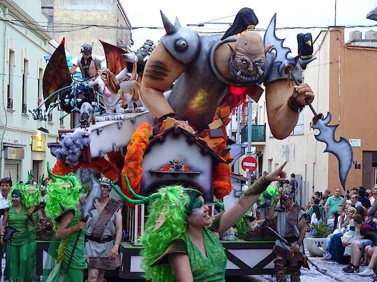 Palafrugell carnival Spain