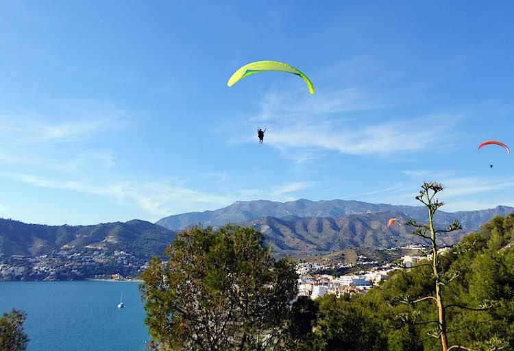 Paragliding La Herradura Spain