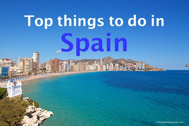 Top things to do in Spain actvities | fun things to do in Spain