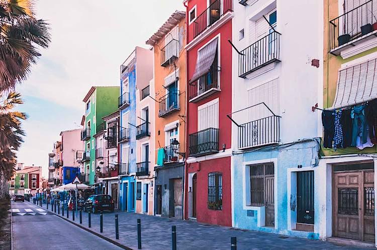 Villajoyosa Benidorm Alicante Spain