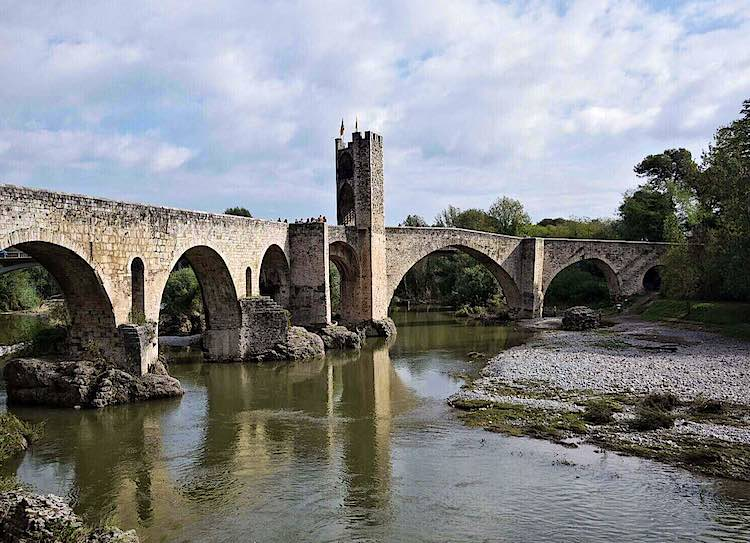 Besalu bridge Spain