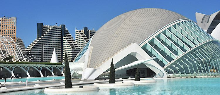 Science museum Valencia Spain