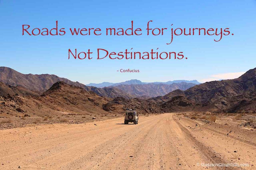 Roads were made for journeys, not destinations | Confucius | Road Trip Quotes | Road Trip Captions | Travel quotes