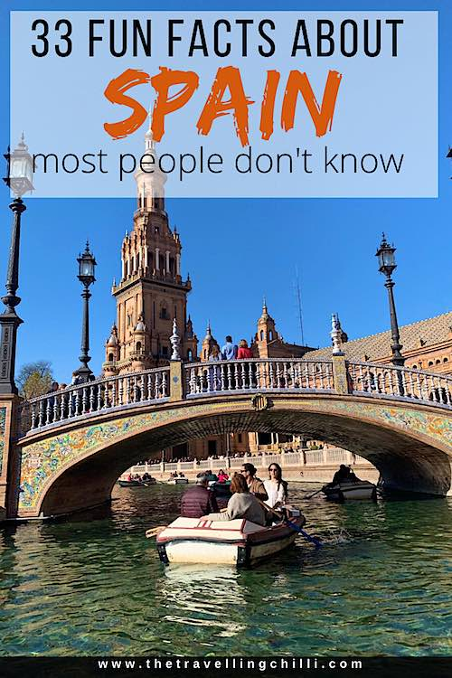 Fun facts about Spain | Interesting facts about Spain | Spanish Facts #spain #spanishfacts