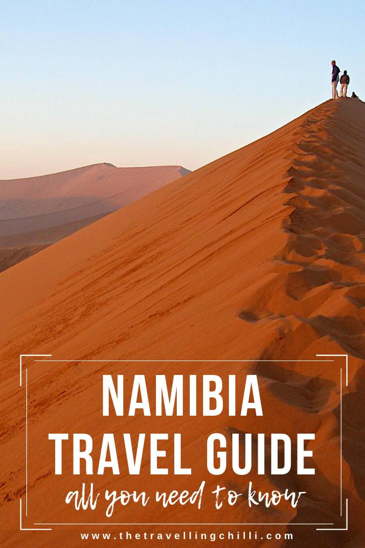This ultimate Namibia travel guide will help you plan your trip, provide essential tips for travelling Namibia, where to stay and how to visit Sossusvlei, Fish River Canyon, Swakopmund, Skeleton Coast, Kolmanskop, Etosha National Park #namibia #namibiatravelguide #namibiatraveltips
