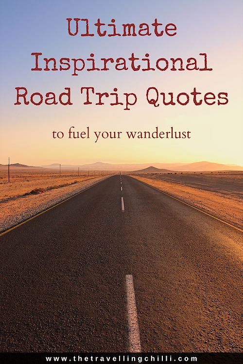 Inspirational road trip quotes to fuel your wanderlust | best road trip quotes #roadtripquotes #travelquotes