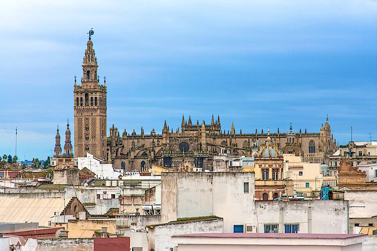 Sevilla cathedral Spain landmarks