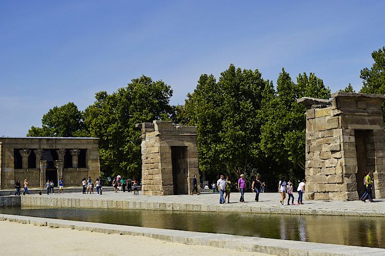 Templo de Debod Madrid is a real Landmark of Madrid