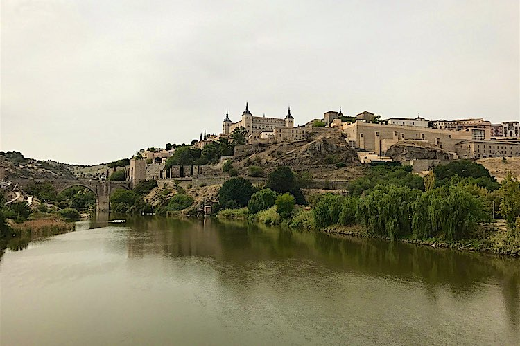 View of the historical town of Toledo in Spain