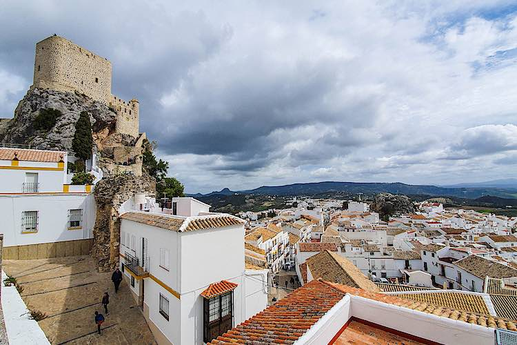 White villages in Andalucia landmark Spain