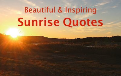 55 Inspiring Sunrise quotes and captions