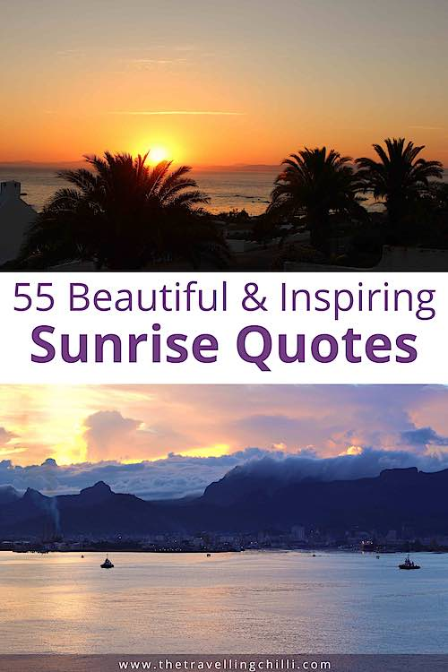 Beautiful and inspiring sunrise quotes and sunrise captions for instagram