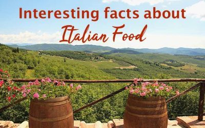 33 Interesting facts about Italian food